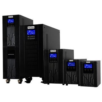 德利森Delison 不间断电源,塔式单进单出,延时2小时,XT-A10L+DLRS24000-1-DX016/240