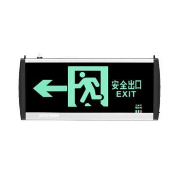 欧普 LED应急标志灯,OP-BLZD-1LROEⅠ3W-Z101-壁装 安全出口向左-单面,单位:个