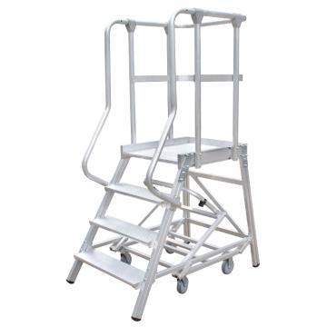 瑞居 移动平台梯(拆卸式),额载(kg):200 4阶 平台高度(cm):100,FP4