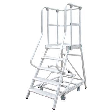 瑞居 移动平台梯(拆卸式),额载(kg):200 5阶 平台高度(cm):125,FP5
