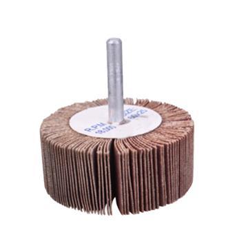 晶士霸 千叶轮,30(外径)*25(宽度)*50(柄径),柄径6mm,粒度60,50个/包