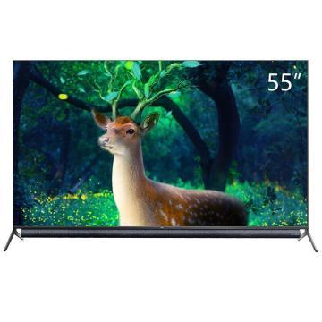 TCL电视机,55P9 55英寸4K超高清无边全面屏彩电 安桥音响 人工智能语音网络液晶平板电视教育电视