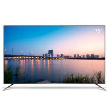 TCL电视机,75F8 75英寸 4K超高清 HDR防蓝光 智能电视 包安装