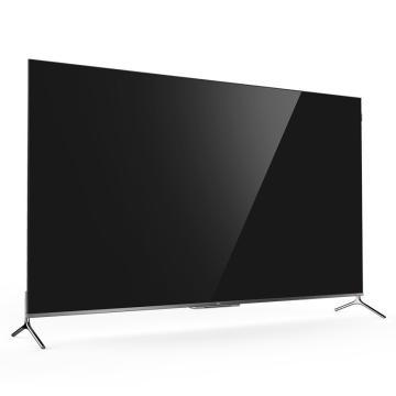TCL电视机,75C8 75寸 新款QLED量子点 4K超高清超薄全面屏 免遥控智能语音网络液晶平板 黑 包安装