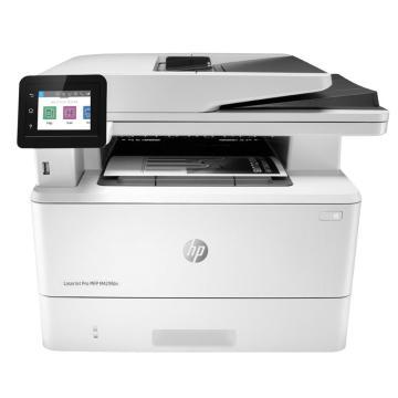 惠普(HP)黑白激光多功能一体机,A4自动双面 有线(打印 复印 扫描 传真) M429fdn 单位:台