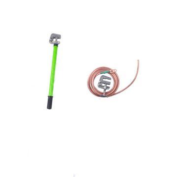 华泰 35KV接地线(2节3米(每节1.5米)平口螺旋接地棒*1根 18米 25mm²软铜线*1根 地夹1个)