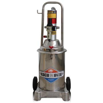 科球 气动高压注油器,美标A,压力比50:1,桶容积12L