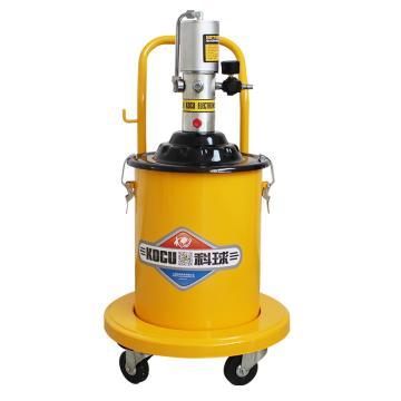 科球 气动高压注油器,GZ-150,压力比60:1,桶容积20L