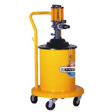 科球 气动高压注油器,GZ-100,压力比50:1,桶容积20L
