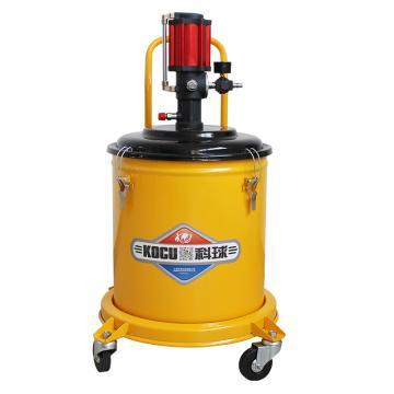 科球 气动高压注油器,GZ-300,压力比50:1,桶容积30L