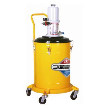 科球 气动高压注油器,GZ-85B,压力比40:1,桶容积50L
