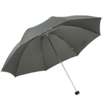 天堂伞,307E 晴雨伞藏青折叠加大雨伞拒水一甩干商务伞 57cm*8k 墨绿