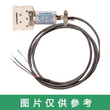 OMEGA 连接器式变送器,SPRTX-S2 用于RTD 2~569°C(36~1056°F) 标准尺寸连接器