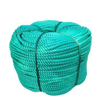 安赛瑞 尼龙塑料绳,φ8mm,长约100m,绿色