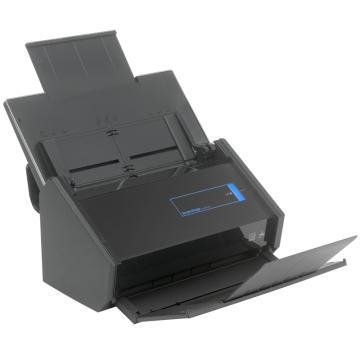富士通 A4高速高清彩色双面自动馈纸WIFI无线传输扫描仪,scansnap ix500