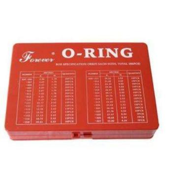 丁腈橡胶NBR70日标O型圈修理盒,ORKIT-5B(30个规格,总计382件),明细见图文
