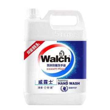 威露士 泡沫洗手液,健康呵护5L 单位:瓶