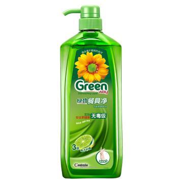 绿劲 新一代餐具净,柚子柠檬 1.28千克 单位:瓶