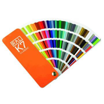 劳尔 RAL 色卡,RAL劳尔国际标准 K7色卡 213色 RAL K7 RAL CLASSIC Farben