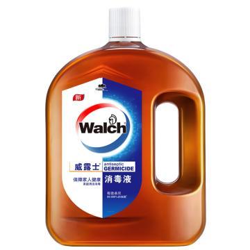 威露士 消毒液,1.8L 单位:瓶