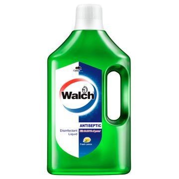 威露士 多用途消毒液,青柠 1.5L 单位:瓶