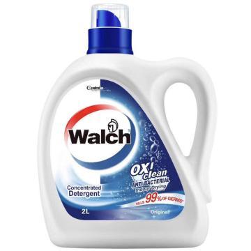 威露士 抗菌有氧洗衣液,原味2L 单位:瓶