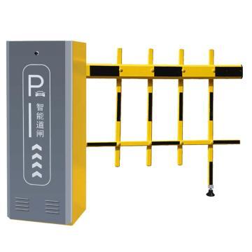 锦安行 道闸,左固定,二栏黄黑杆,杆长4米,340×230×970mm,JCH-CW206-3-5Y
