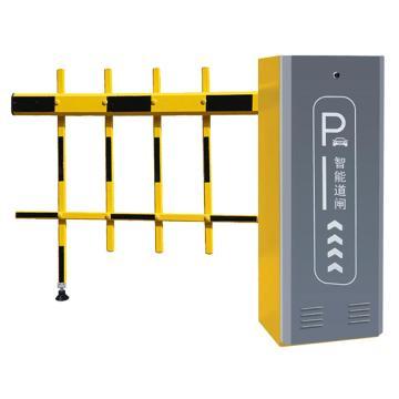 锦安行 道闸,右固定,二栏黄黑杆,杆长4米,340×230×970mm,JCH-CW206-3-6Y