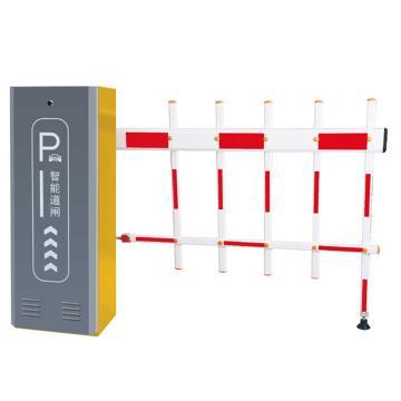 锦安行 道闸,左固定,二栏红白杆,杆长4米,340×230×970mm,JCH-CW206-3-5