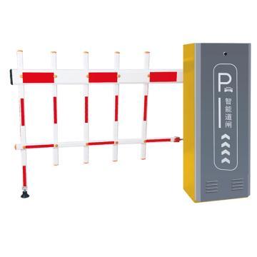 锦安行 道闸,右固定,二栏红白杆,杆长4米,340×230×970mm,JCH-CW206-3-6