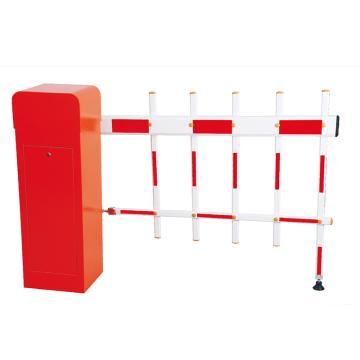 锦安行 道闸,左固定,二栏红白杆,杆长4米,340×280×1045mm,JCH-CW203-5