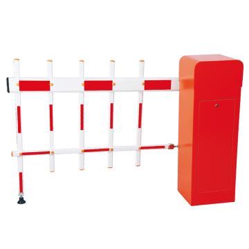 锦安行 道闸,右固定,二栏红白杆,杆长4米,340×280×1045mm,JCH-CW203-6