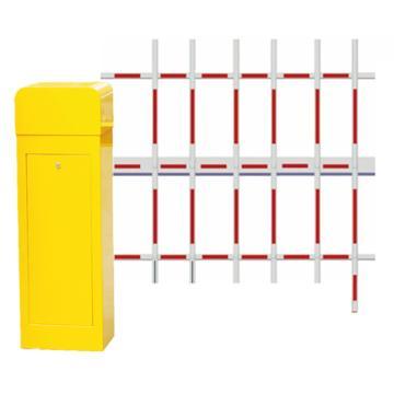 锦安行 道闸,左固定,三栏红白杆,杆长4米,340×280×1045mm,JCH-CW203-11