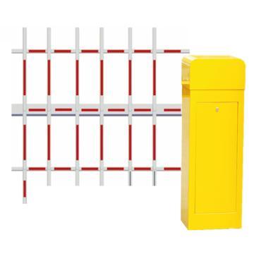 锦安行 道闸,右固定,三栏红白杆,杆长4米,340×280×1045mm,JCH-CW203-12