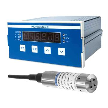 麦克 测控仪&液位变送器&带40米电缆线,MSB9418&MPM426W 控制点四组 4-20mA 220VAC