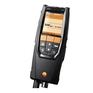 德图/testo 320烟气分析仪,O2 传感器以及高品质仪器箱 订货号 0632 3220 70