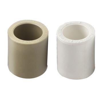 联塑 直通(PP-R配件)白色灰色随机发货,dn32
