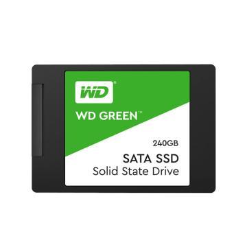 西部数据固态硬盘,WDS240G2G0A Green系列 240G SATA3.0接口SSD日常家用普及版