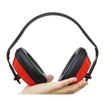 羿科 防噪音耳罩,红色,60303201