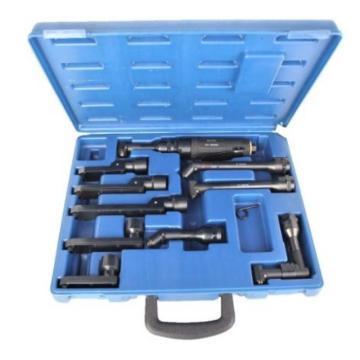 GP 气钻及弯头套装(1个马达+9个气钻弯头),2800RPM,功率0.3HP,GP-AD2803-10K