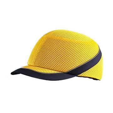 赛锐 轻型防撞帽,SFT-TB010-32-YL,清爽款,黄色