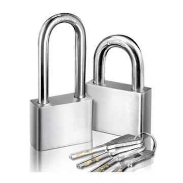 罕码 304不锈钢叶片长梁锁(不同花),锁体宽40mm,HMKL306N