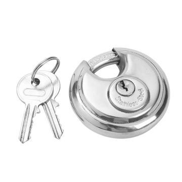罕码 不锈钢圆饼锁(不同花),锁体宽70mm,HMKL318N