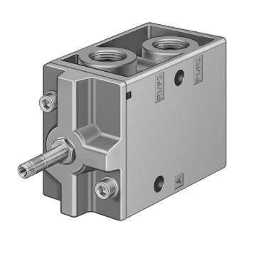 费斯托FESTO 电磁阀,2位3通电磁阀,常闭,不含线圈,MFH-3-3/4-S,11968