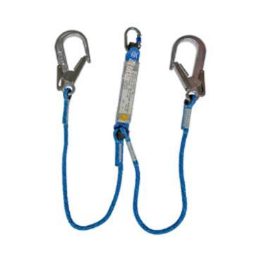 密特曼 双钩缓冲系绳1.5米
