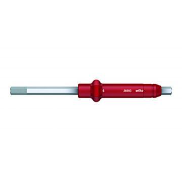 威汉 内六角可替换大扭力起子杆,6.0x130mm/20Nmmax.,28749