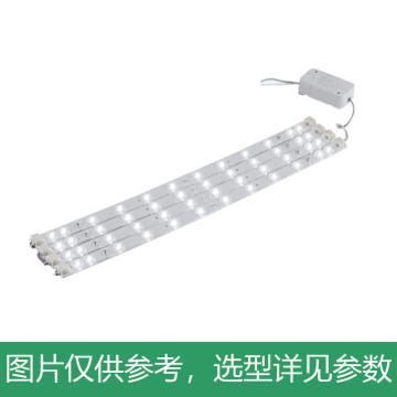 木林森 银河系列条形灯贴,LED光源模组,42W,一拖四,310×18×11.8mm,6500K,单位:个