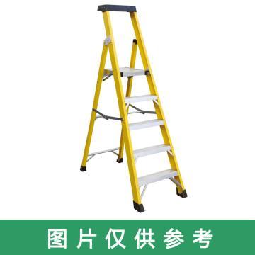 金锚 高强度玻璃钢工作梯 踏板数:3 最大承重(KG):260 工作高度(米):0.71 底宽(米):0.501,FO17-103