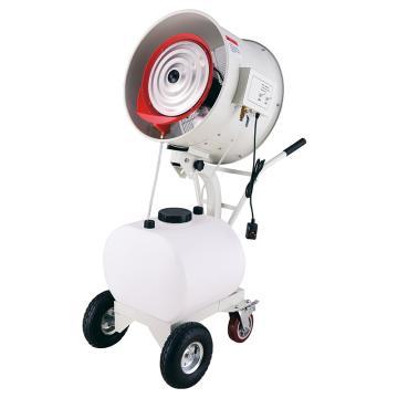 绿益 手推式加湿风扇(摇头款),HW-20MC08-O,220V,水箱60L,出雾量0-35L/H可调
