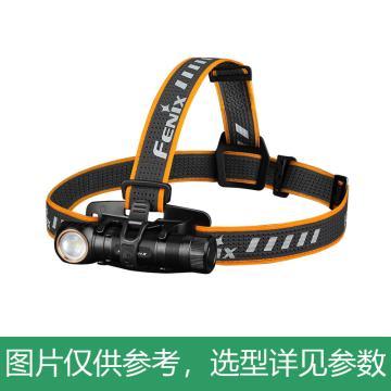 FENIX 充电LED头灯,最高1200lm,HM61R,白红双光源,含充电电池+磁吸充电线,单位:个